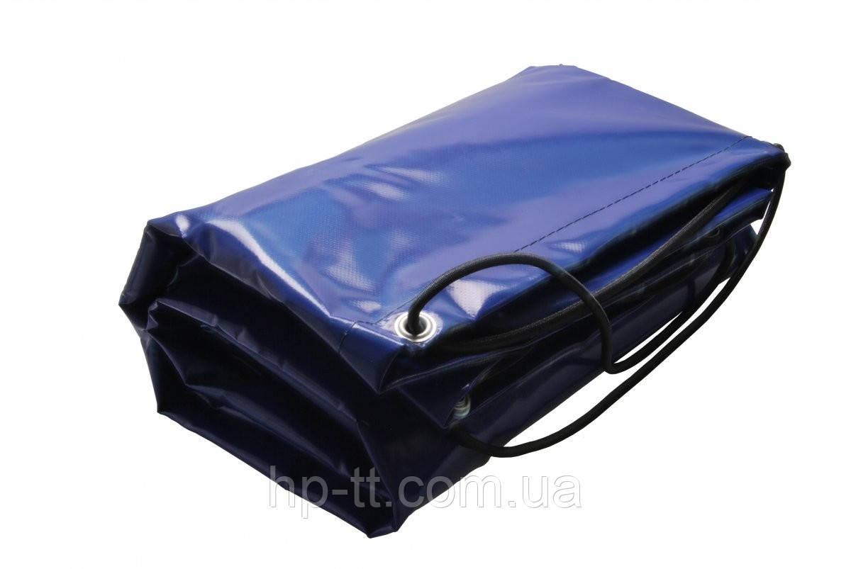 Плоский тент, ПВХ, голубой, 2521 х 1360x 150мм