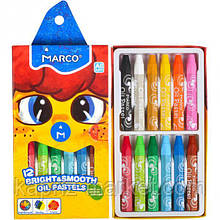 "Пастель масляна"" Marco"", 12 кольорів"