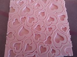 Молд силиконовый сердца