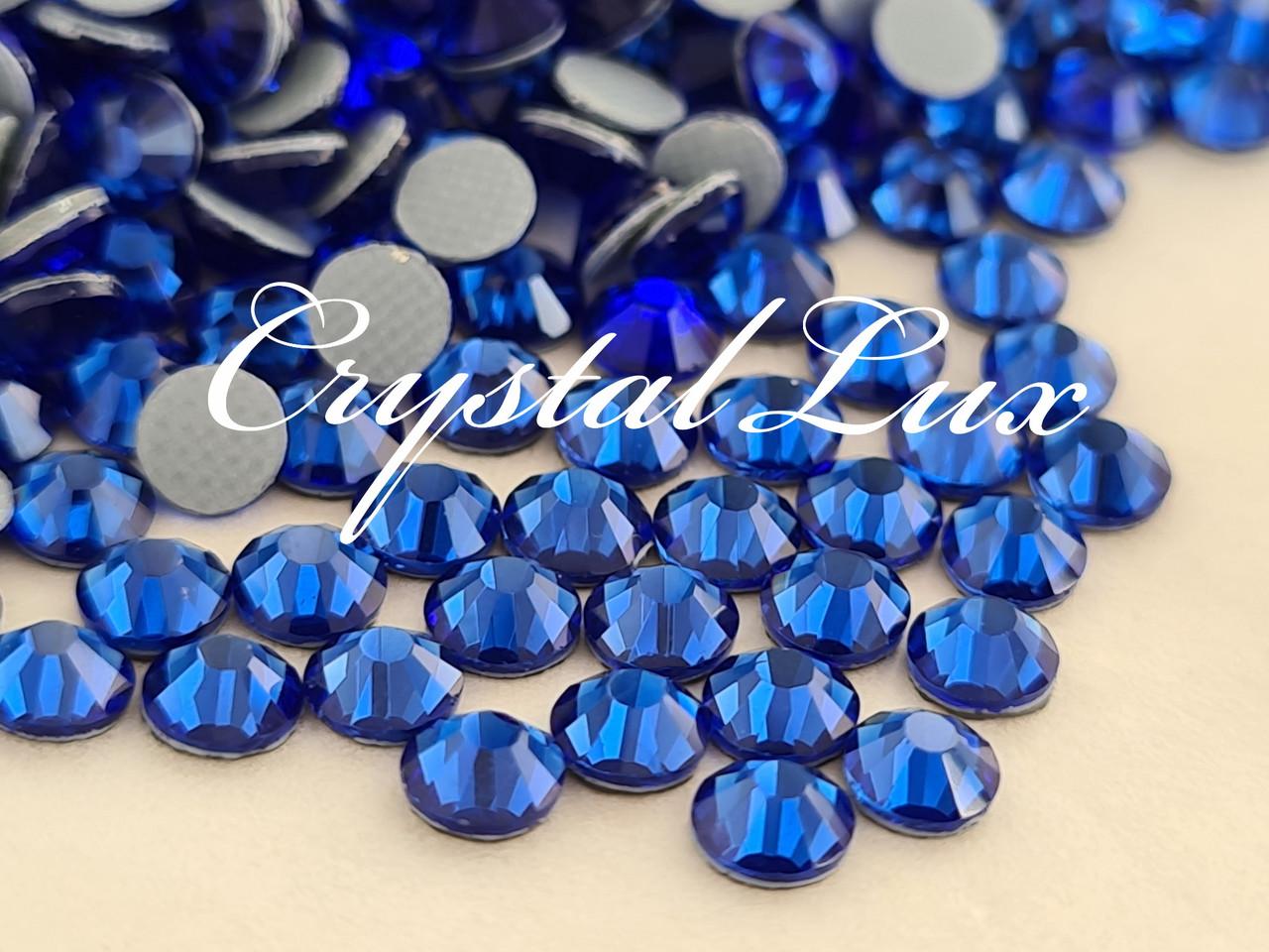 Термо стразы Lux ss16 Sapphire (4.0mm) 1440шт