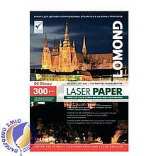 Двусторонняя глянцевая фотобумага для лазерной печати, 300 г/м2, А3, 150 листов
