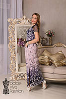 Стильное женское Платье длинное размеры 46-56