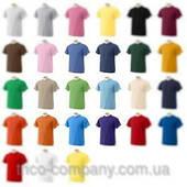 Однотонные трикотажные футболки оптом