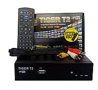 Т2 ресивер тюнер TIGER IPTV + Internet+ Обучаемый пульт