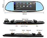 "Зеркало видеорегистратор, Экран 7"", GPS, SIM, 2 камеры, Android, K36(D36), фото 3"