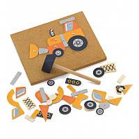 Набор для творчества Viga Toys Строительная техника 50336 б.у