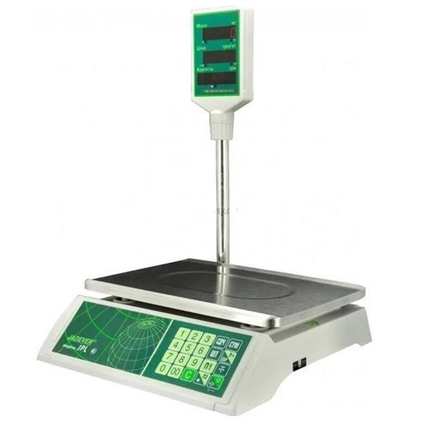Весы торговые Jadever JPL (15 кг)