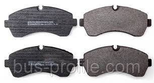Передние колодки на MB Sprinter 906 515-519 (СПАРКА), VW Crafter 50  2006→ — Meyle (Германия) — 0252920020