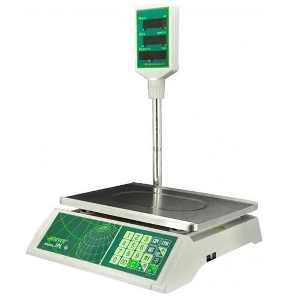 Весы торговые Jadever JPL-RS232 (15 кг)