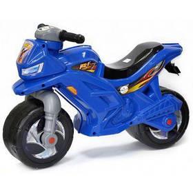 Мотоцикл 2-х колесный 501 синий