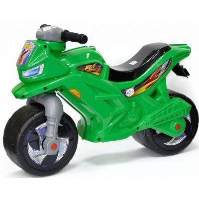 Мотоцикл 2-х колесный 501 ОРИОН 68-29-47 см зеленый, фото 2