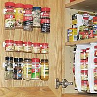 Органайзер для специй и соусов - Clip n Store с двухсторонним скотчем