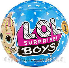 Лялька Boys Series 2 Doll with 7 Surprises