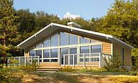 Каркасный дом-американский проект Едельвейс 80кв.м.