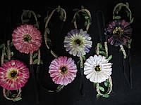 Повязка-резинка с цветком на голову (25/20) (цена за 1шт. +5 грн)