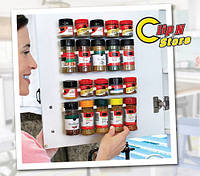 Органайзер Clip n Store для шкафов и холодильников, 4 планки по 5 держателей