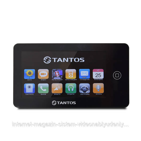 """Видеодомофон Tantos Neo 7"""" Black (106252)"""
