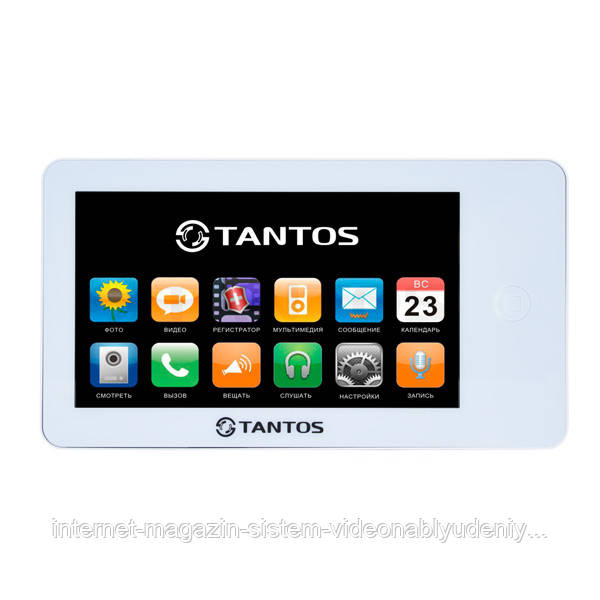 """Видеодомофон Tantos Neo GSM 7"""" White (106254)"""
