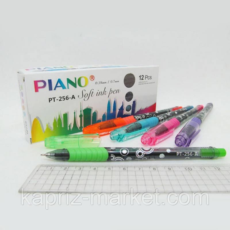 Ручка масляна Piano, колір синій