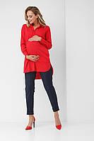 Сорочка для вагітних 1863 0621 червона