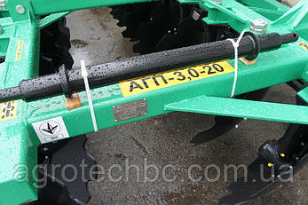 Дисковая борона полуприцепная АГП-3,3-20, фото 2
