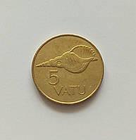5 вату Вануату 1990 г., фото 1
