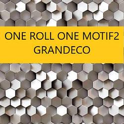 ONE ROLL ONE MOTOF 2 панно 1,59 x 2.80м Grandeco Бельгия НОВИНКА