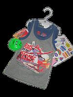 Комплект хлопкового белья для мальчиков(майка+трусики)Disney 2-3 года