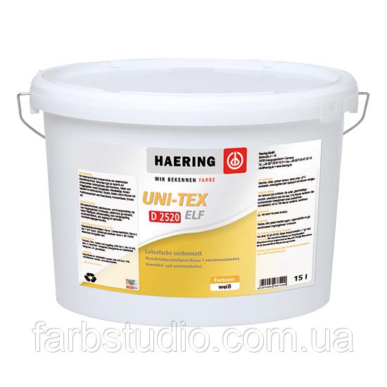 Фарба матова водорозчинна Haering Uni-Tex Elf seidenmatt D 2520 - біла