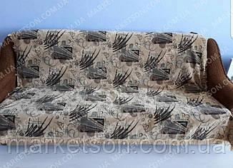 Покрывало дивандек полуторное 140х200 шенилл, фото 2