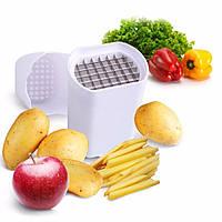 Набор для быстрого нарезания картошки Lot de coupe legumes размер 10х13х8см