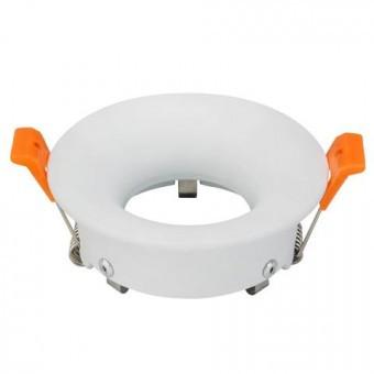Світильник точковий білий круг MR16