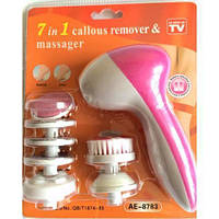 Массажер для лица 5in 1 Warm для чистки лица и тела