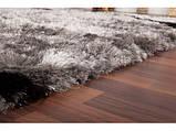 Продаж килимів, ковдри трава, білі пухнасті килими, фото 3