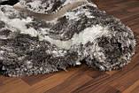 Продаж килимів, ковдри трава, білі пухнасті килими, фото 2