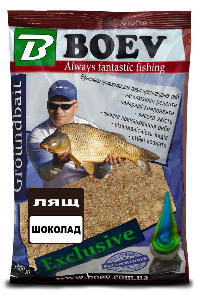 Прикормка BOEV Exclusive  Лещ Шоколад
