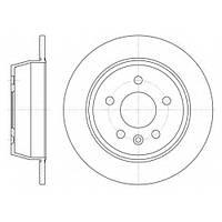 Тормозной диск задний VITO(638)(1997-2003г),пр-во ABE C4M019ABE, фото 1