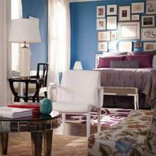 Спальня с женским оттенком