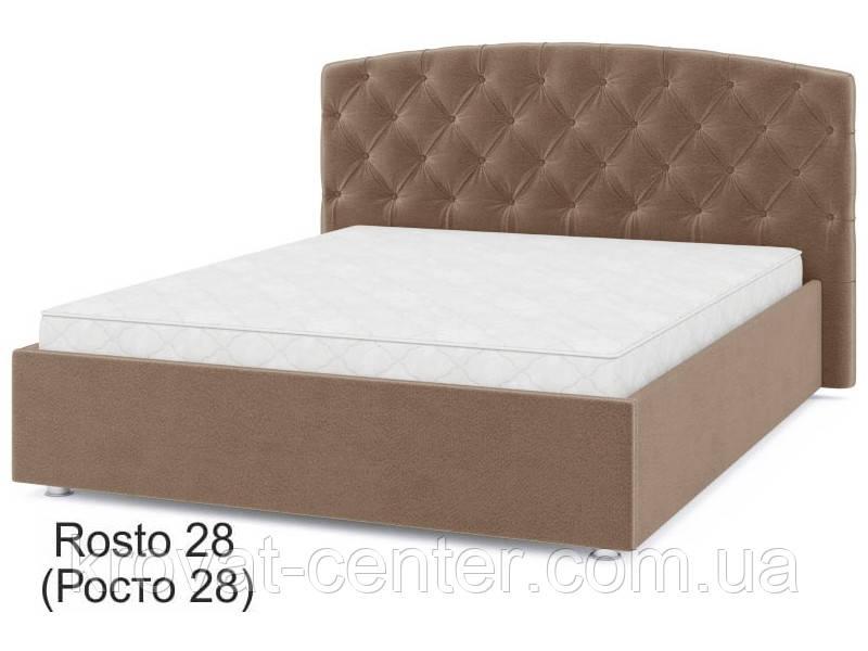 """Мягкая кровать подиум с подъемным механизмом """"Ненси"""" Sofyno Matroluxe"""