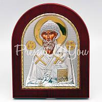 Икона «Святого Спиридона Тримифунтского», 15х18 см.