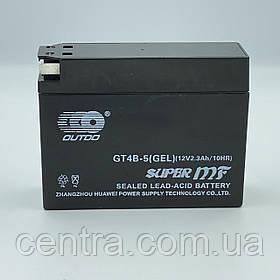 Аккумулятор мото Outdo 2.3Ah GT4B-5