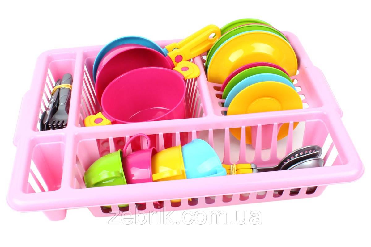 Набор детской кухонной посуды- чудесная игрушка для будущих хозяюшек