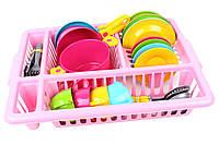 Набор детской кухонной посуды- чудесная игрушка для будущих хозяюшек, фото 1