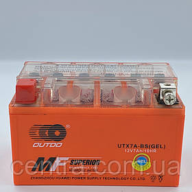 Аккумулятор мото Outdo 7Ah YTX7A-BS GEL