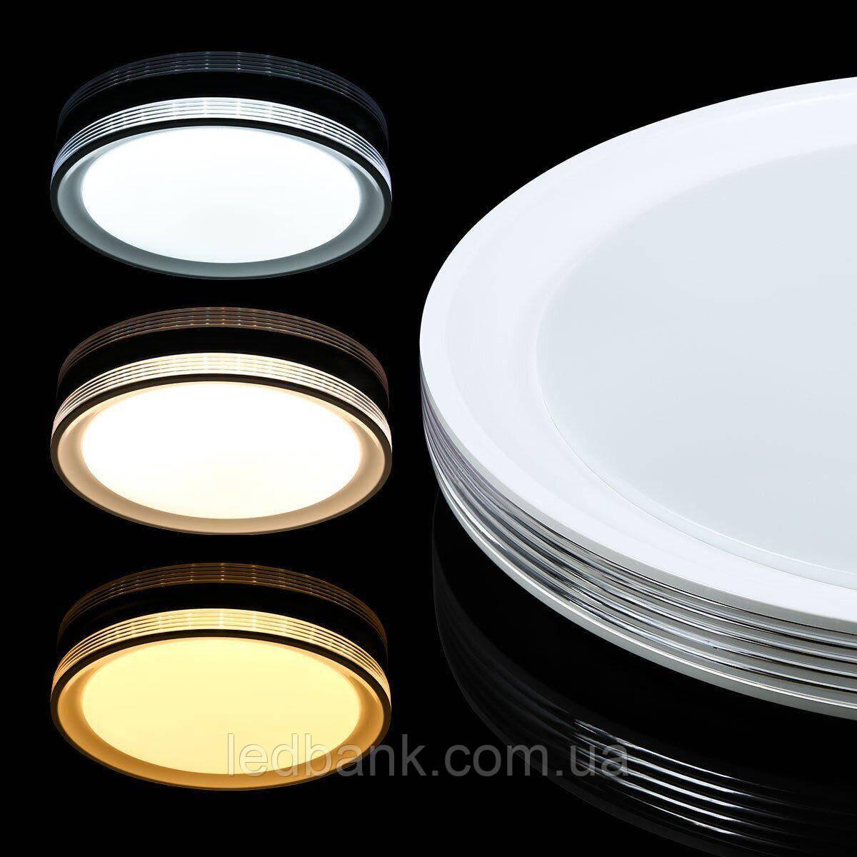 Светильник светодиодный SMART SML-R10-80 3000-6000K 80Вт Biom с пультом