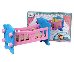 Кроватка для кукол ТехноК, Украина