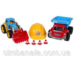 Іграшка «Малюк-будівельник 2 ТехноК»