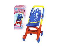 Игрушечная коляска для кукол и пупсов Технок «Мальвина», фото 1