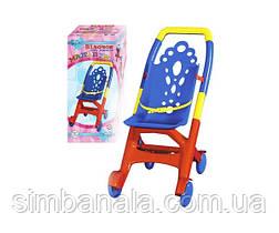Игрушечная коляска для кукол и пупсов Технок «Мальвина»