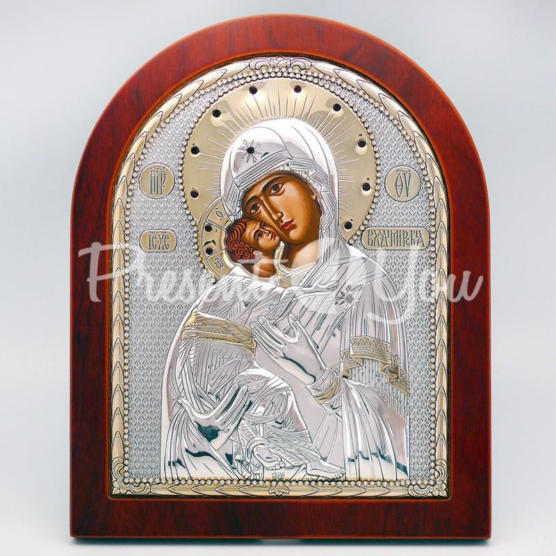 Владимирская икона Божией Матери, 25х20 см.